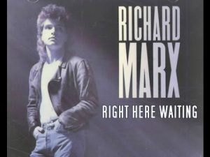 Right here waiting - Download piano sheet music - Richard Marx