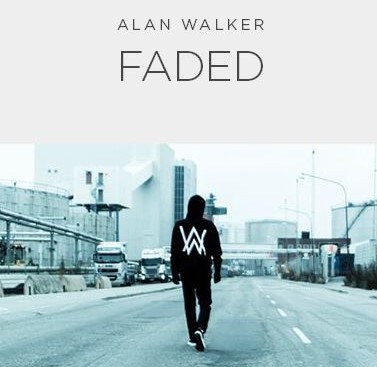 Faded - Download piano sheet music - download video tutorial