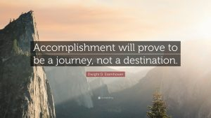 Dwight-D-Eisenhower-Accomplishment-will-prove-to-be-a journey not destination. Piano tips, hacks, play piano left hand, piano hands together
