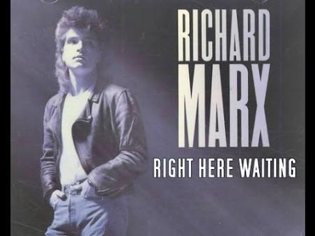 Right here waiting - Download piano sheet music - Richard Marx